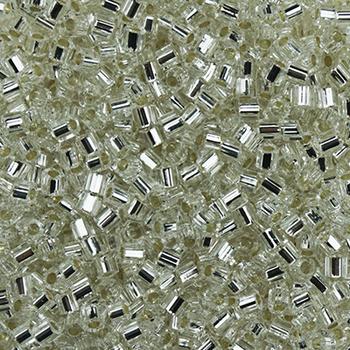 #BDS-H1 Size 11 Crystal Hex Beads Sundance Designs