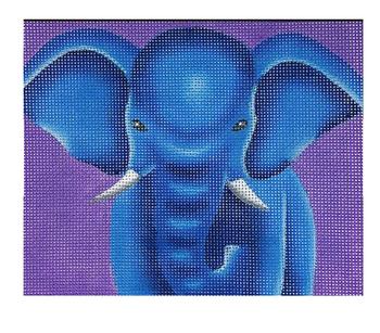 ME1 Ellie the Elephant Medeline Elizabeth 18 Count 5 x 6