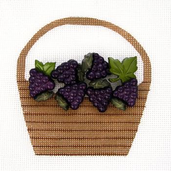 HB-272 Grape Basket 31⁄2x4 18 Mesh Hummingbird Designs