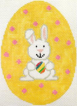HB-341 Bunny Egg 7 1⁄2 x 9 18 Mesh Hummingbird Designs