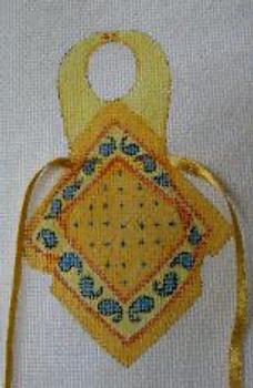 1646 Bandana 5 x 7 13 Mesh Bib Apron Jane Nichols Needlepoint