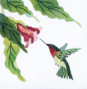 182150 Hummingbird 5 x 5 18 Mesh JULIE THOMPSON