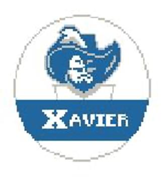 """BT385 Xavier Musketeers Kathy Schenkel Designs  4"""" Diameter"""