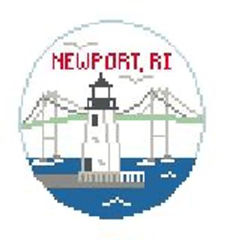 "BT875 Newport, RI Kathy Schenkel Designs  4"" Diameter"