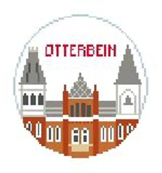 """BT879 Otterbein Kathy Schenkel Designs  4"""" Diameter"""