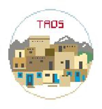 """BT895 Taos, NM Kathy Schenkel Designs  4"""" Diameter"""