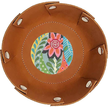 """BAG80BR Multi-Snap, Snap Tray - Brown - 6"""" Round Lee's Needle Arts"""