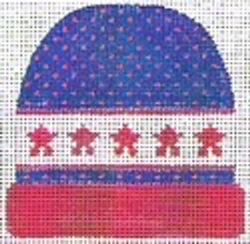 """85-3I Red Star Buttons (Match with Sweater Number) 4"""" x 3 3⁄4"""" 13 mesh STITCH-ITs"""