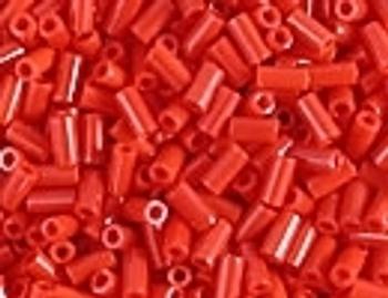 BGL1-408 Op Red 3mm Bugle Beads Embellishing Plus
