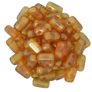 Brick Bead: 29253 Halo-Sandalwood 3/6mm Bricks Embellishing Plus