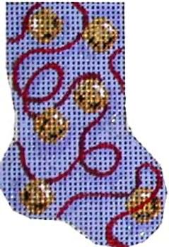CT-957 Jingle Bells Micro Mini 2x2.75 18 Mesh  Associated Talents