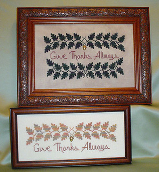 Give Thanks Always Charm Only No Pattern Handblessings