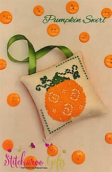 Pumpkin Swirl by Stitcharoo Gifts 19-2776