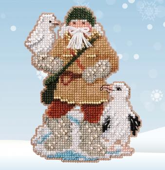 MH202033 Albatross Santa (2020) Mill Hill Seasonal Ornament Antarctic Santa