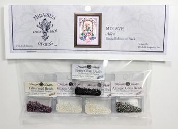 MD157E Mirabilia Designs Alice  Embellishment Pack