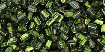 TG11-37 Silver Lined Olivine Miyuki Beads Embellishing Plus