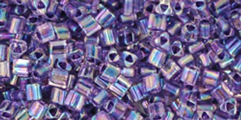 TG11-774 Inside Color Rainbow Crysal/Grape Lines Miyuki Beads Embellishing Plus