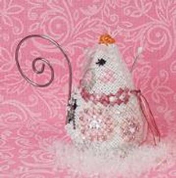 Crystal Snowlady Mouse Just Nan Designs JNLECSM
