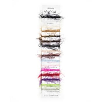 RE02- White Eyelash  Rainbow Gallery