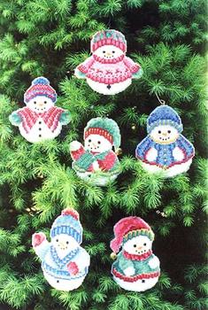 #LD105 Snowmen Ornaments Sudberry