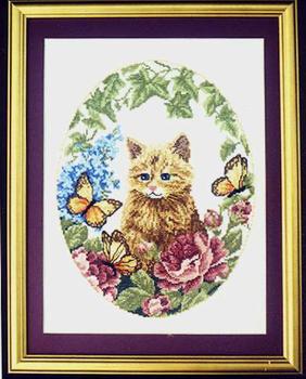 #LD103 Cat in Garden Sudberry