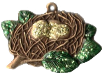 JN319 • Christmas Nest 2020 Limited Edition Ornament Just Nan Designs