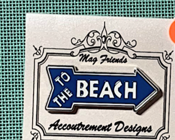 SEA & SUMMER To The Beach Needle Minder Magnet Accoutrement Designs SEA & SUMMER