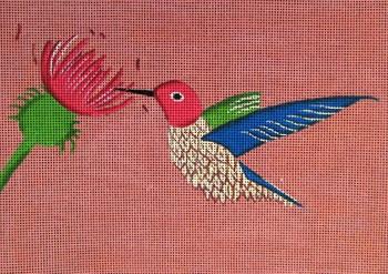 SEE1420 Hummingbird 11 x 8 13 Mesh by Anna See