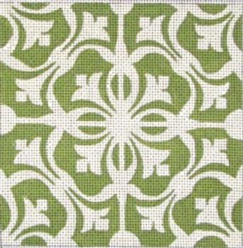 70607 Pasadena Tile Ethnic 4x4 13 Mesh Unique New Zealand Designs Needlepoint