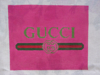 AB-21 It's All Gucci 8 x 9.5 inches 13 Mesh Alice And Blue