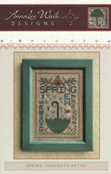 Spring Thoughts 58w x 84h Annalee Waite Designs 20-2210