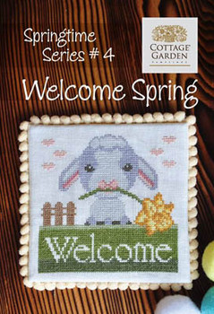 Welcome Spring 70w x 70h by Cottage Garden Samplings 20-2307