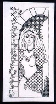 Blackwork Princess by Dragon Dreams Inc. 05-1127