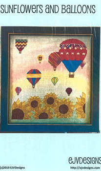 Sunflowers And Balloons 180w x 200h  by EJV DESIGNS 20-2485