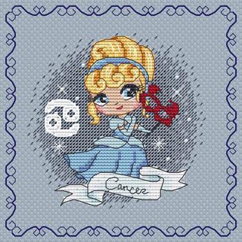 Zodiacal Princess 1 - Cancer by Les Petites Croix De Lucie 21-1105
