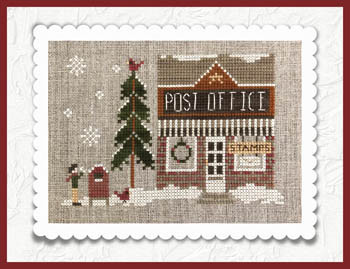 Hometown Holiday Post Office by Little House Needleworks 20-2280