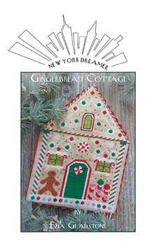 Gingerbread Cottage 103w x 133h by New York Dreamer 20-2800