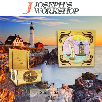 Sunset Sail (Box & Pattern) Joseph's Workshop