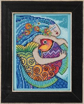 LB302113 Mill Hill Laurel Burch Ocean Ocean Song