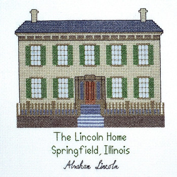 PC319 Lincoln Home The Posy Collection