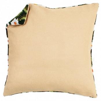 PNV174414 Vervaco Cushion Back Without Zipper - Ecru