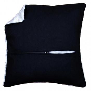 PNV174417 Vervaco Cushion Back With Zipper - Black