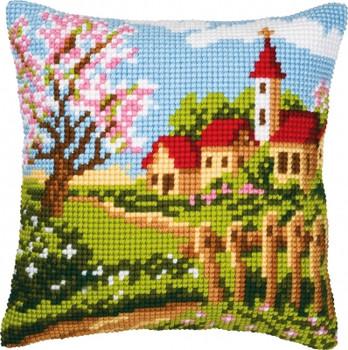 PNV8732  Vervaco Springtime - Cushion
