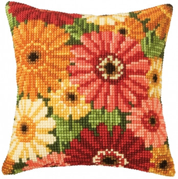 PNV8796 Vervaco Summer Flowers - Cushion;