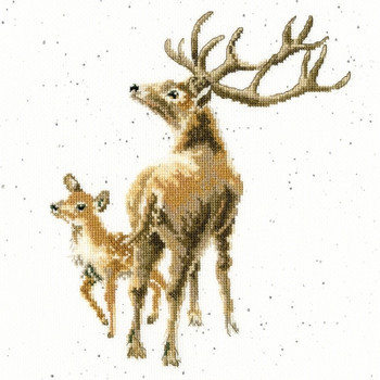 BTXHD72 Wild at Heart  Hannah Dale Bothy Threads Counted Cross Stitch KIT