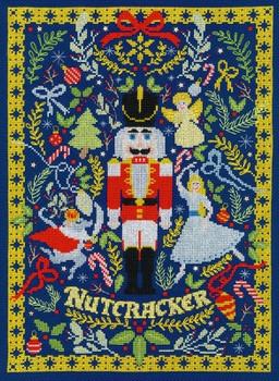 BTXX17 The Christmas Nutcracker  Christmas  by Vesna Skornsek Bothy Threads Counted Cross Stitch KIT