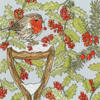 BTXX19 Christmas Garden -  Christmas Bothy Threads Counted Cross Stitch KIT