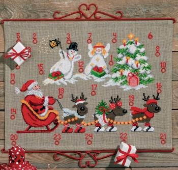 349224 Permin Kit Reindeer & Snowman - Advent