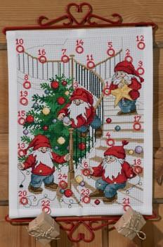 349520 Permin Kit Elf Decorating Tree - Advent