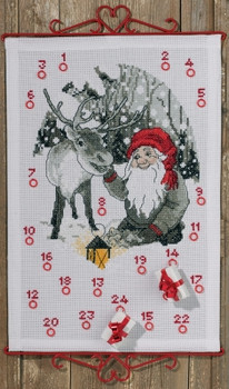 349655 Permin Kit Elf & Reindeer - Advent